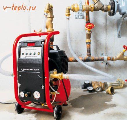 Что такое промывка системы отопления