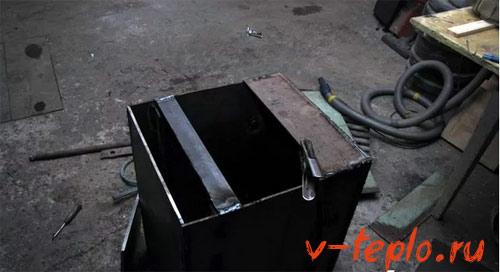 привариваем крышку