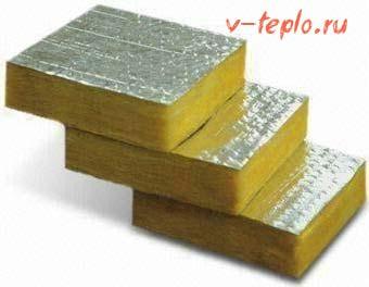 фольгированная минеральная вата