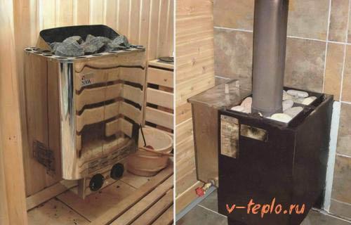 технические характеристики газовой, банной печи