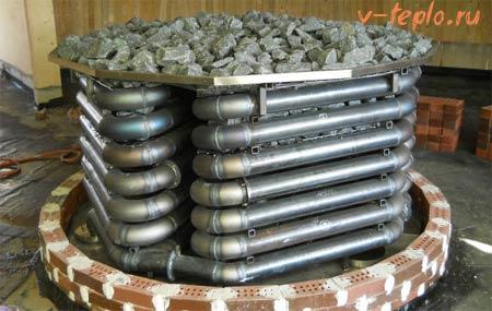 банная печь Kusaterm