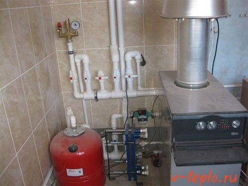 Монтаж настенного газового котла своими руками: установка навесного аппарата