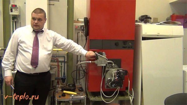 обслуживание газовых горелок для котлов