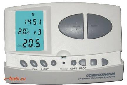 computherm q7 терморегулятор для дома