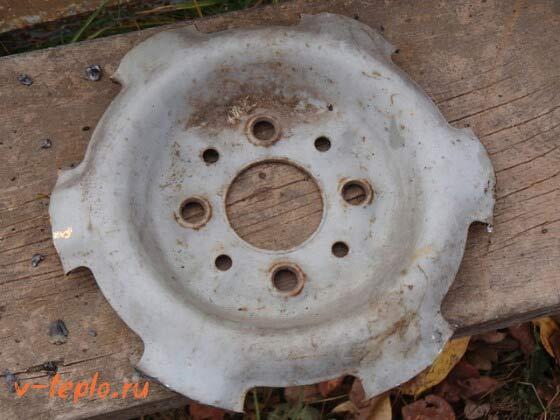 Перегородка диска