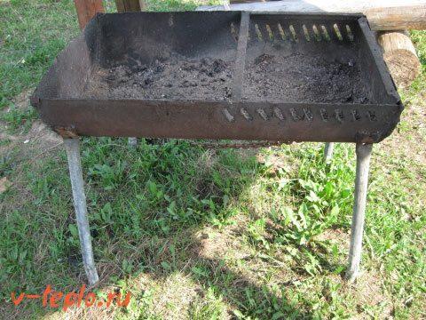 инструкция по изготовлению мангала из бочки