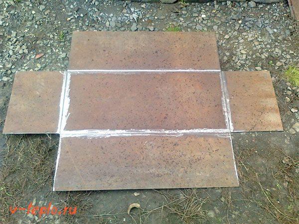 листы металла для мангала
