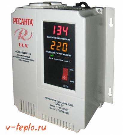 электронные стабилизаторы напряжения для котлов
