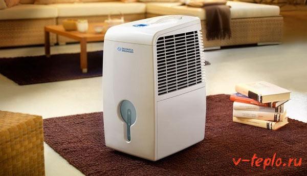 прибор для уменьшения влажности воздуха