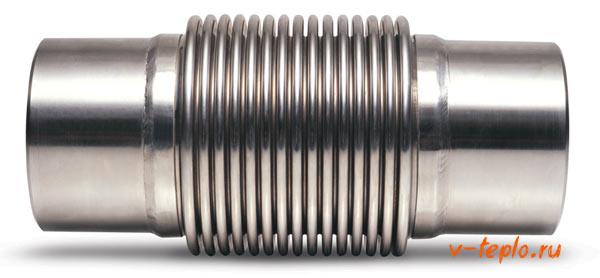 Компенсатор для труб из полипропилена