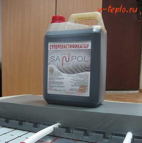 пластификатор sanpol