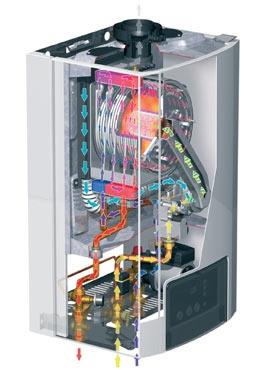 Принцип работы и стоимость газового конденсационного котла