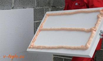 Пенопластовый клей