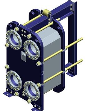 Принцип работы и устройство пластинчатого теплообменника