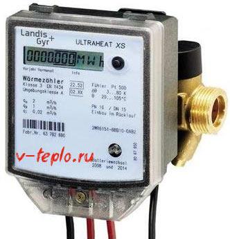 Электромагнитный счетчик тепла