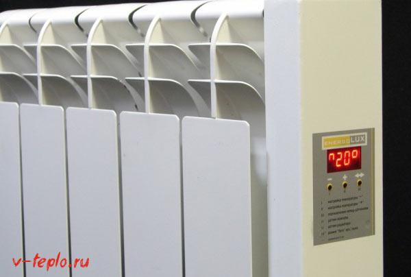 классификация электрорадиаторов