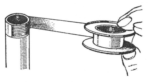 Уплотнение соединений лентой