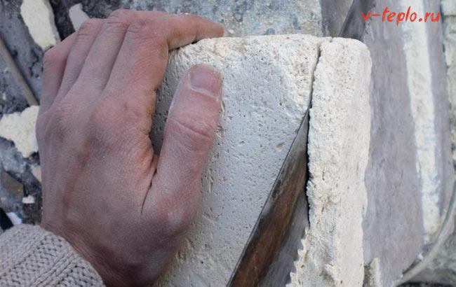 Добавление цемента