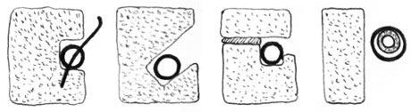 схема монтажа нагревательной спирали в печи