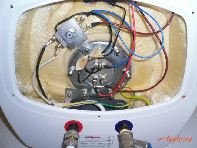 Ariston ремонт водонагревателя