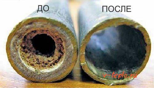 засор в системе отопления