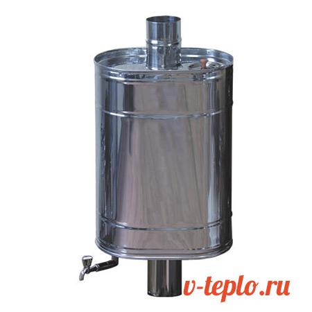 Баня бак для воды: деревянные бочки самоварного типа для горячей воды, выносной бак на трубу из нержавейки с теплообменником