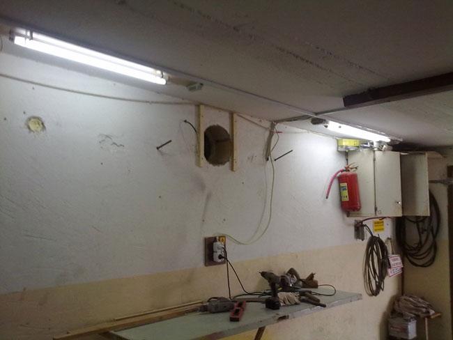 Принудительная вентиляция в гараже своими руками