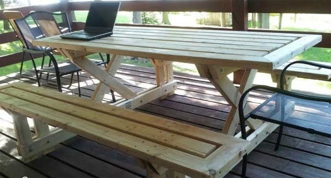 image44 Садовая скамейка своими руками - пошаговые инструкции!