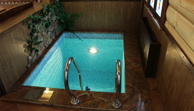 Как построить бассейн в бане