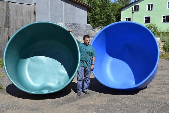 Пластиковые бассейны