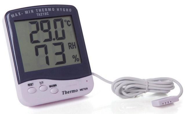 электронный термометр с выносным датчиком