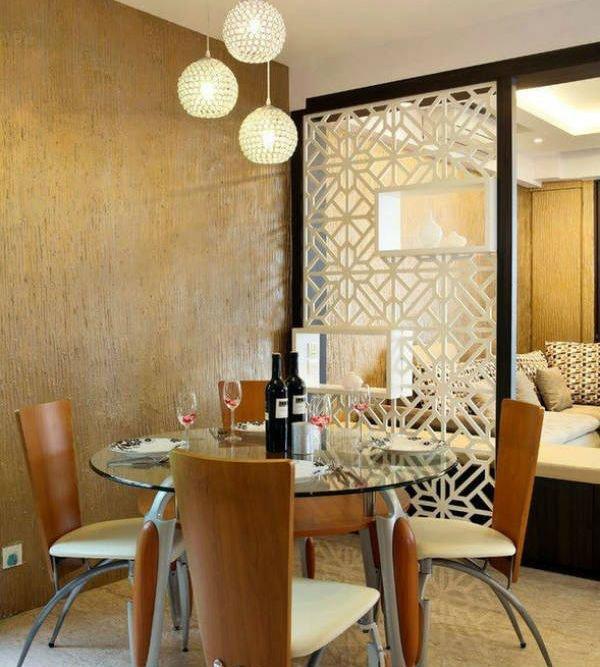 Японские шторы как перегородка для разделения комнаты: идеи с фото