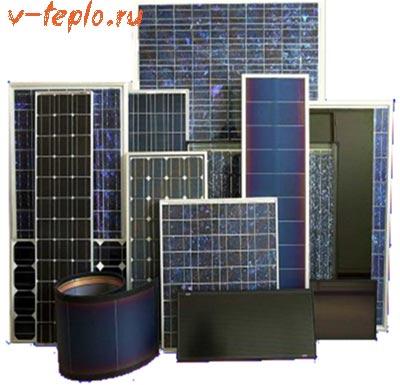 фото солнечные коллекторы