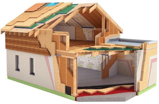 пароизоляцией для стен деревянного дома