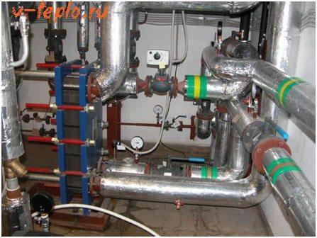 паровое отопление производственных помещений