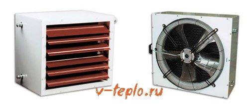 воздушно отопительный агрегат