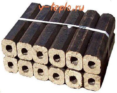 брикеты отопления pini kay