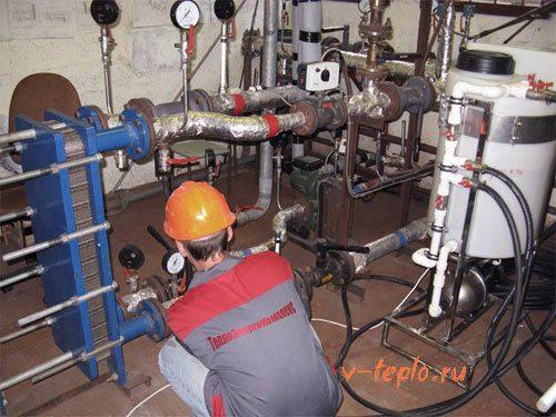 ремонт элеваторного узла