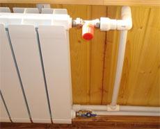 Технические особенности и прокладка двухтрубной системы отопления своими руками