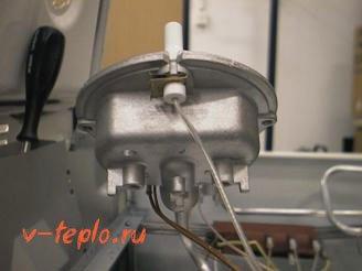 электрический розжиг газовой колонки