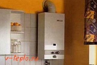 установка на кухне