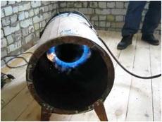 Как самостоятельно сделать газовую пушку