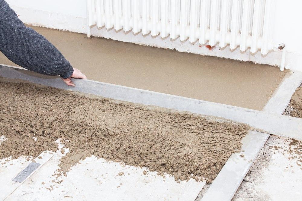 Марки бетона для создания стяжки на полу