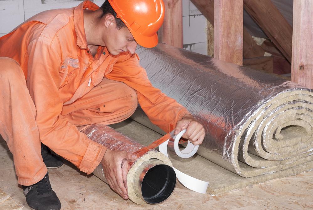 Утепление металлических дымоходных труб