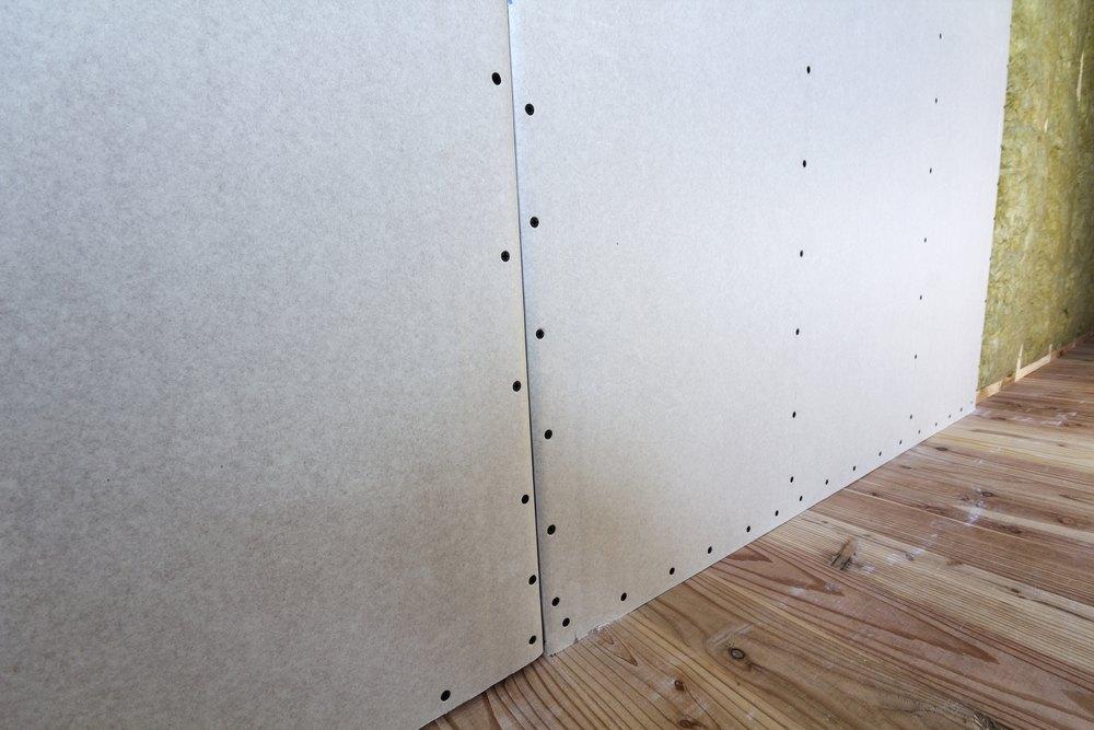 Минеральная вата с гипсокартоном для утепления стен