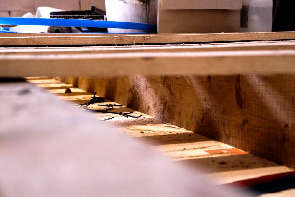 Подготовка пола к отделке и засыпке керамзита