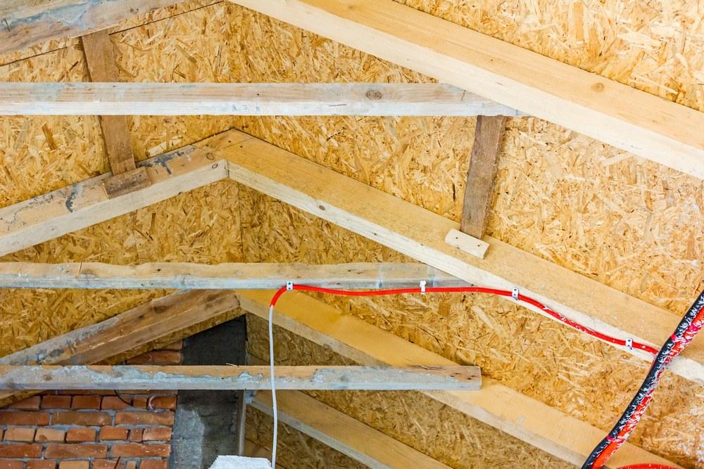 Подготовка крыши к установке пенопласта