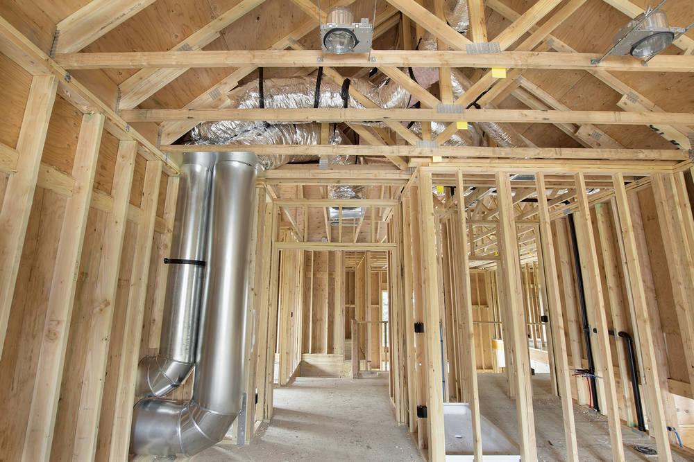 Принудительная вентиляция в деревянном доме