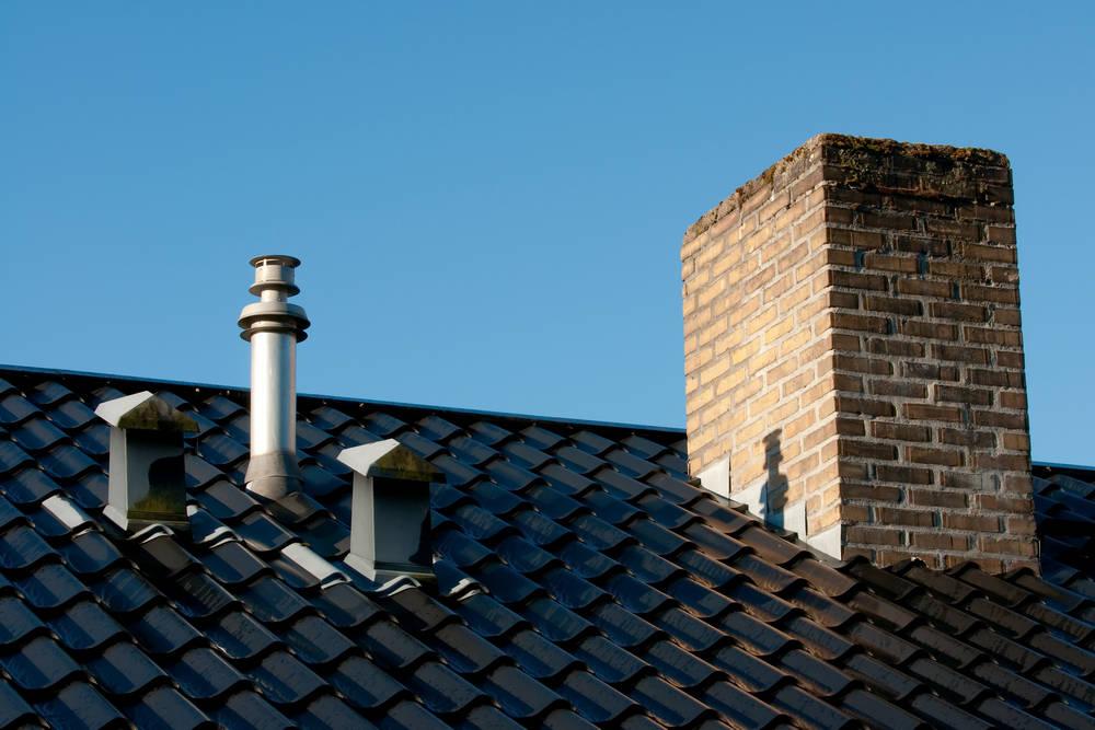 Вывод воздуховодов через крышу