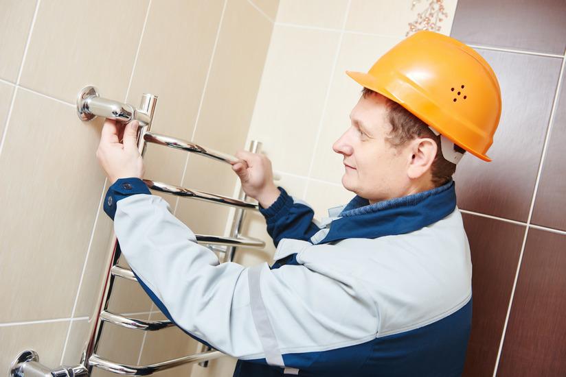 Замена полотенцесушителя в ванной как заменить самому без ошибок
